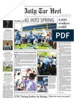 The Daily Tar Heel for April 12, 2010