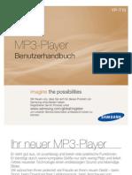 Samsung YP-T10 Handbuch