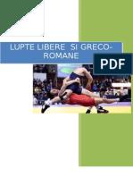 Lupte libere si greco-romane