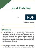 Factoring and ing