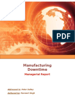 Case Study 1 Managing Downtime Final.doc