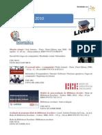 Novidades MARÇO 2010