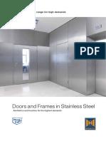 Doors and Frames in Stainless Steel 85771 En