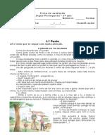 Ficha de Avaliação_5.º Português