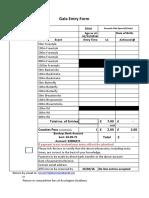 Deventio Excel Entry Form 9/10 April