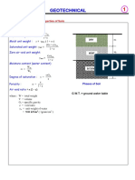 Geotech Formula