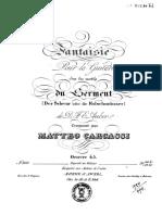 Matteo Carcassi - Fantasie Sur Les Motifs Ou Serment Op.45