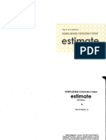 Simplified Construction Estimate Edit