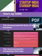 Start Up India Group 4