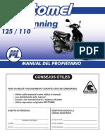 BLITZ 125 110 Tunning Manual Del Propietario