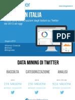 Twitter in Italia dal 2013 al 2015