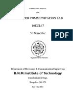 Adv.commn Lab Manual