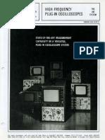 HP Oscilloscopes - The 180 System