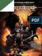 Tsr02021 - Dragonlance - Accessory - DragonLance Adventures