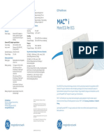GE Healthcare Mac i Portable ECG Machine Brochure (1)