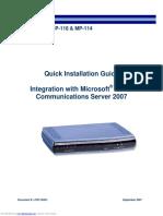 Manual mp114