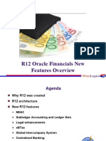 R12 Oracle FinancialsNew Features Overview