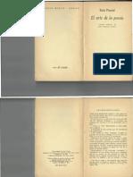 Ezra Pound, Una recapitulación