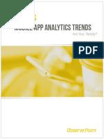 2016 Mobile App Analytics Trends