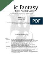 Basic Fantasy RPG Rules r104 Lite