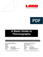 Basic Guide on Thermography Testing