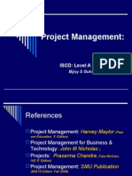 Project Management Lvl a Prt II 2008_09_edn4