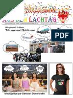 Aus dem Lachtag 2016 - Faschingszeitung im Südtiroler Landtag (Abg. A. Pöder)