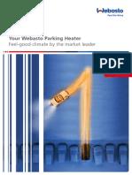 Car Parking Heater Brochure