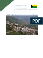 Proyecto de Mejoramiento de Vivienda Marmato Caldas 2015