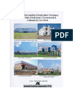 Profile of a construction company