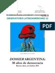 Dossier Argentina. 30 Años de Democracia