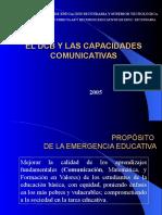 El Dcb y Las Cap. Comunicativas