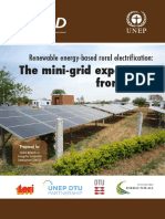 Renewable energy-based rural electrification