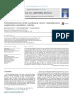 Construction and Building Materials Volume 79 Issue 2015 [Doi 10.1016%2Fj.conbuildmat.2015.01.053] Saleh Ahari, Reza; Erdem, Tahir Kemal; Ramyar, Kambiz -- Permeability Properties of Self-consolidatin