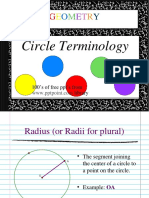 Circle Terminology Opt