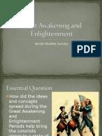 great awakening and enlightenment