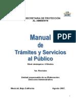 Manual de Tramites y Servicios Al Publico Spa