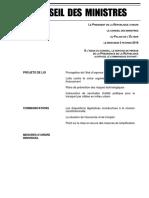 03.02 Compte-rendu Du Conseil Des Ministres