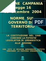 Legge Urbanistica Campania