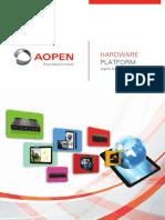 AOPEN Hardware Brochure 2016 Low Resolution
