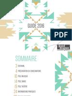 Guide Conservatoire 2016
