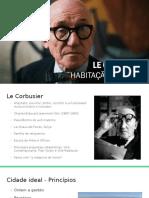 Urbanismo Le Corbusier