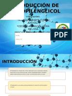 Producción de Propilenglicol