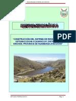 Estudio Hidrologico Laguna Ustunaccocha