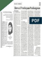 Crowdfunding (Perspektif, Jawa Pos Radar Jember, 1 Februari 2016, Hlm. 1 dan 11)