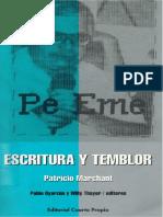 Patricio Marchant - Escritura y temblor