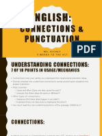 english section ppt2 connections and punctuation