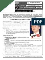 Neoliberalismo en El Peru (1990 - 2015)