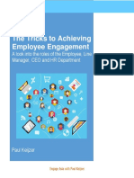Tricks for Achieving Employe Engagement - A Look Into the Roles Different Players Must Take On