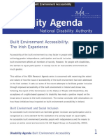 Disability Agenda April 2005